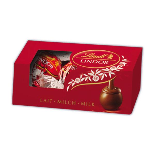 Шоколадови бонбони Lindt Линдор трио пак млечен 37 гр.