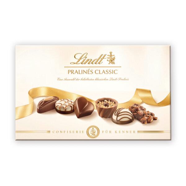 Шоколадови бонбони Lindt бонбониера класик 125 гр.