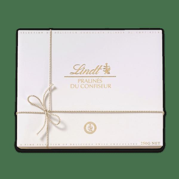 Шоколадови бонбони Lindt бонбониера Голд Уайт 250 гр.