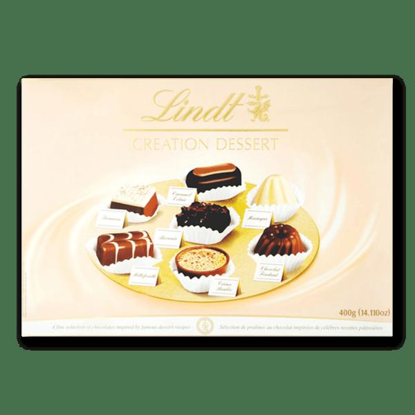 Шоколадови бонбони Lindt бонбониера Пети Десерт 400 гр.