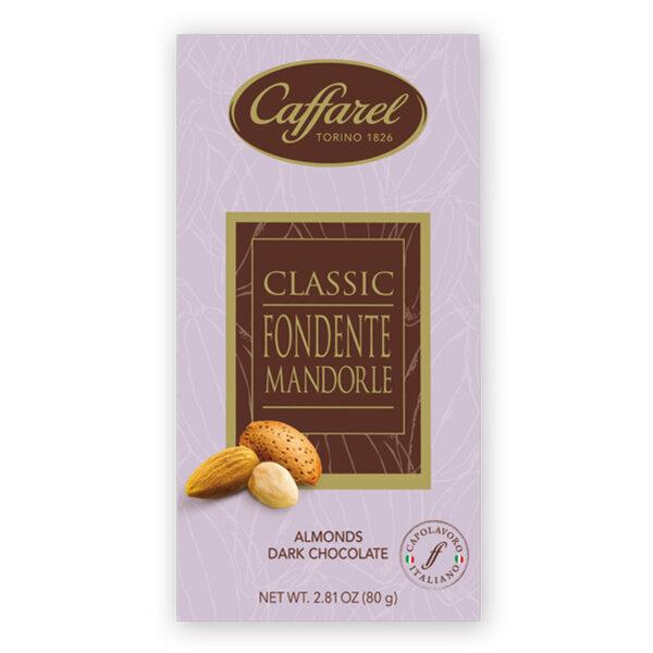 Шоколад Кафарел тъмен с бадеми 80гр.