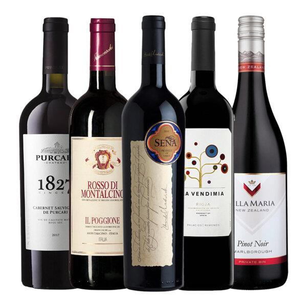 Селекция вина от нов и стар свят