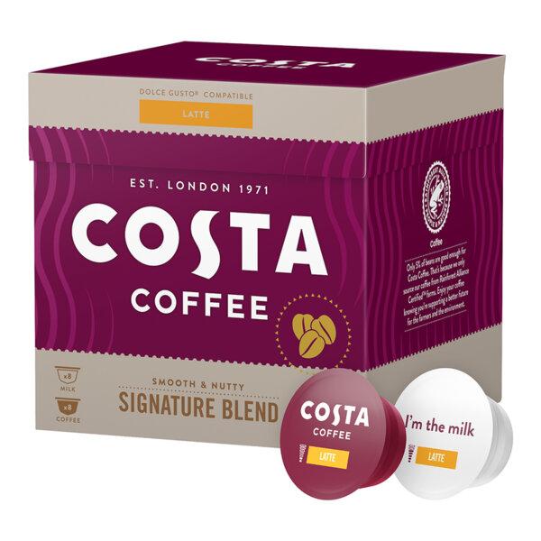 COSTA Latte Signature Blend Dolce Gusto* Съвместими Капсули
