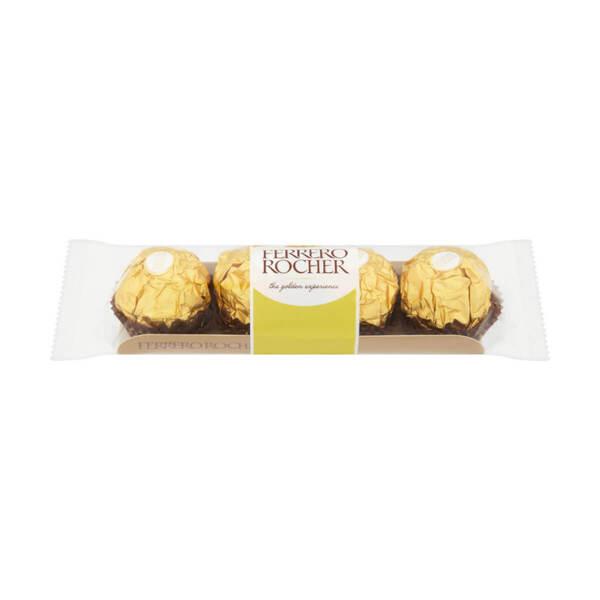 Шоколадови бонбони Ferrero Rocher 50 гр.