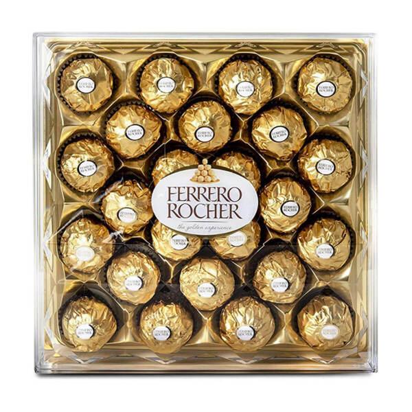 Шоколадови бонбони Ferrero Rocher Диамант 300 гр.