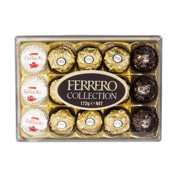 Шоколадови бонбони Ferrero Collection 172 гр.