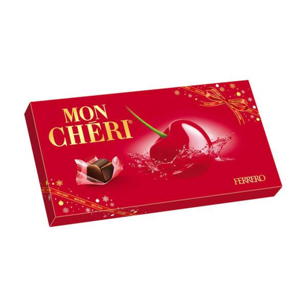 Шоколадови бонбони Mon Cheri 100 гр.