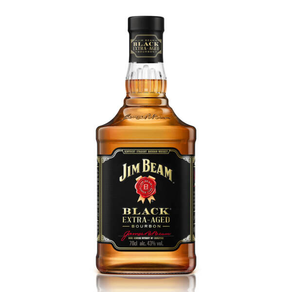 Бърбън Jim Beam Black 6 Y.O. Triple Aged 700ml.