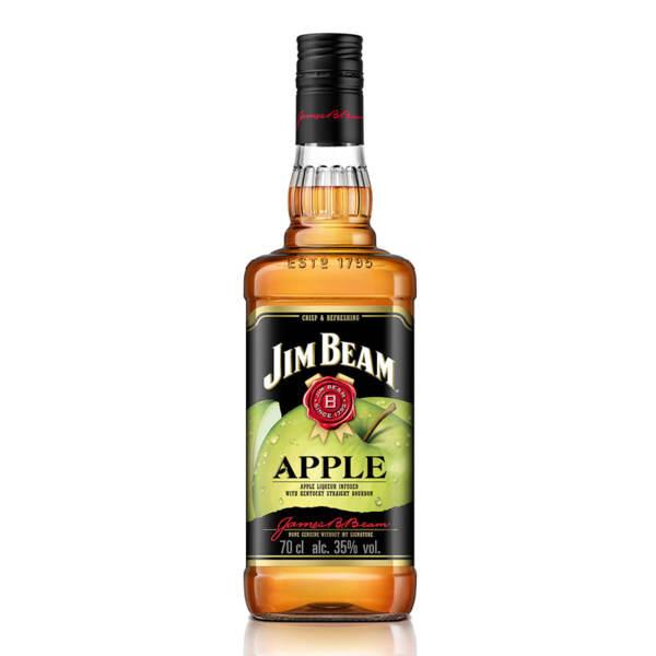Бърбън Jim Beam с ябълка 700ml.