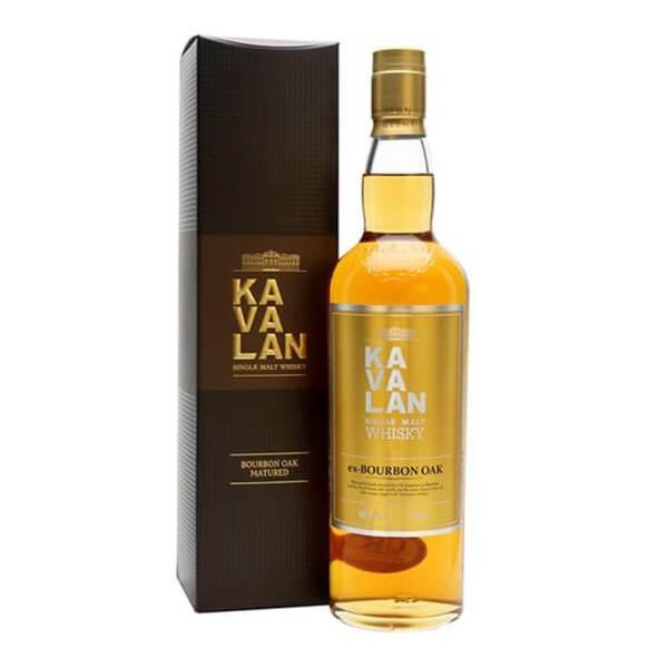 Kavalan ex-Bourbon Oak 700ml.