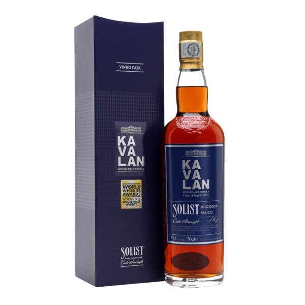 Kavalan Solist Vinho Barrique Cask 700ml.