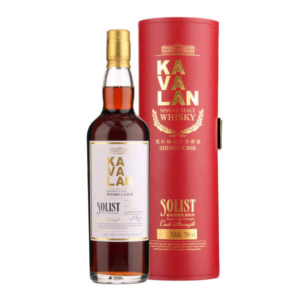 Kavalan Solist Sherry Cask 700ml.