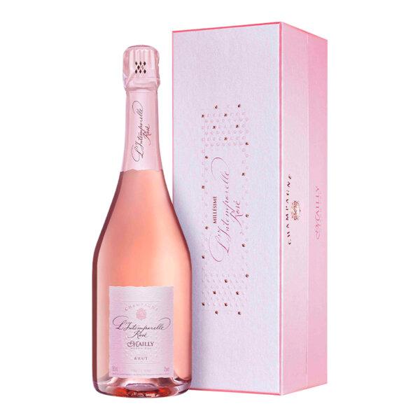 Шампанско Майи Гранд Кру Л'интемпорел Розе, 0.75л.