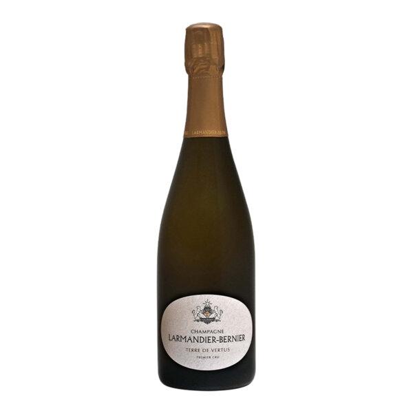 Шампанско Лармандие-Берние Тер ду Вертю Блан Де Блан Премиер Кру Брут Натюр, 0.75л.