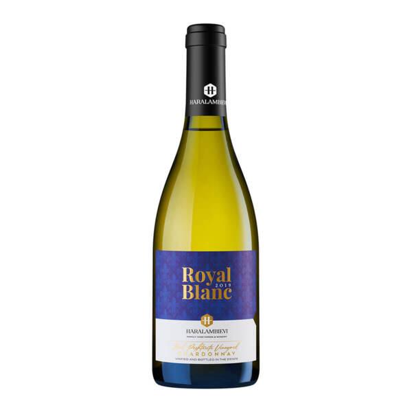 Хараламбиеви Royal Blanc Шардоне 2019, 0.75л.