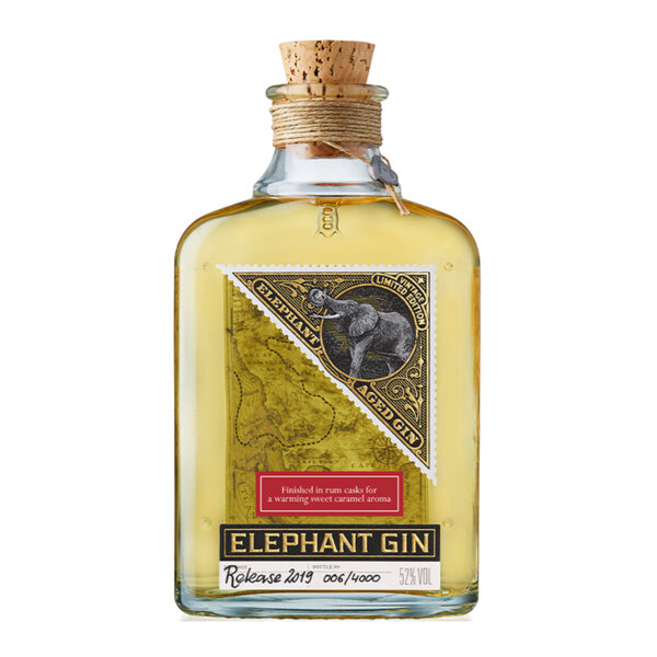 Отлежал джин Elephant 500ml.