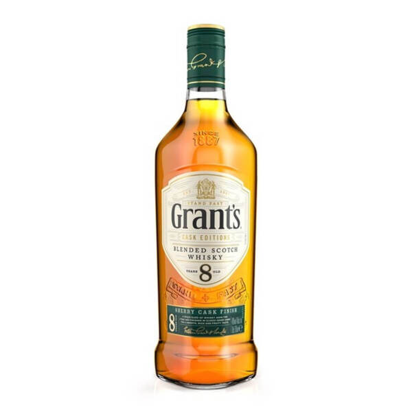 Grant's 8 Y.O. Sherry Cask Finish 700ml.