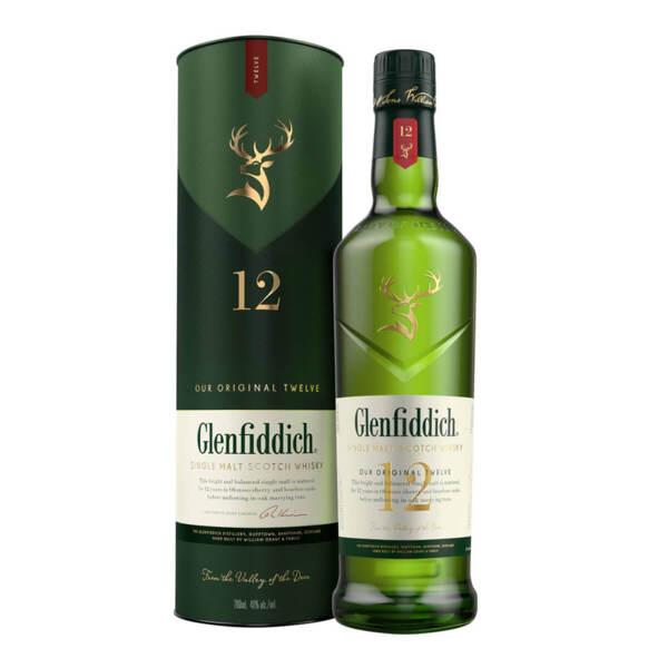 Glenfiddich 12 Y.O. 700ml.