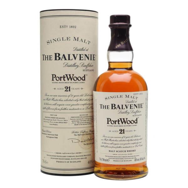 Balvenie Port Wood 21 Y.O. 700ml.