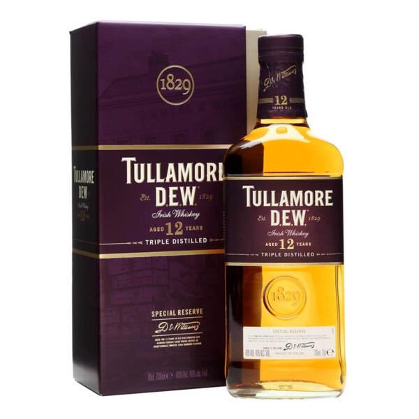 Tullamore D.E.W. 12 Y.O. 700ml.