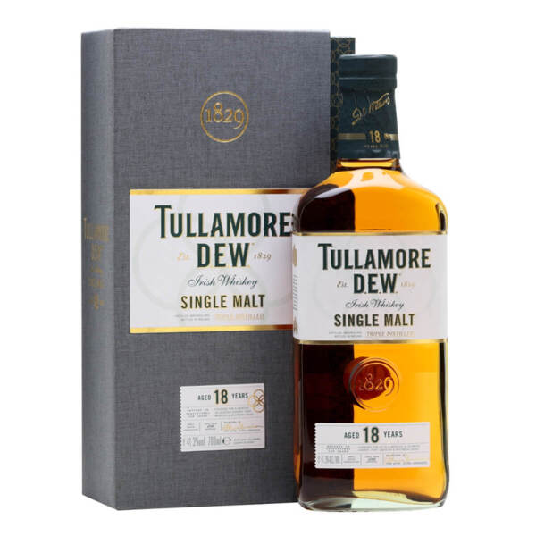 Tullamore D.E.W. 18 Y.O. 700ml.