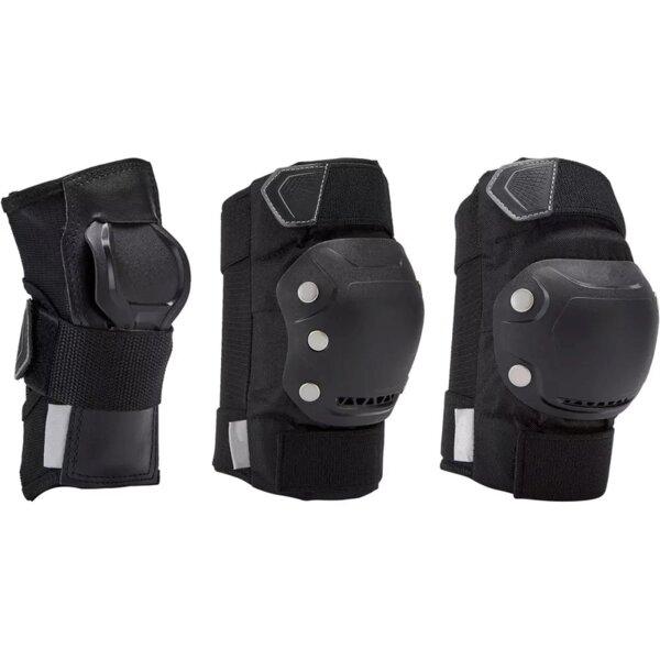 Protective kit 3 set - elbow, knee, wrist guards