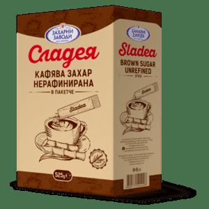 Сладея кафява захар в пакетчета 525g - 10 артикула в пакет