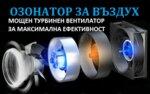 Озонатор за въздух 3,5 гр/ч за площи до 20 m2