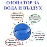 ОЗОНАТОР ЗА ВОДА И ВЪЗДУХ мод. БС-400