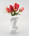 Декорация глава-ваза във формата на римски бюст Mithras