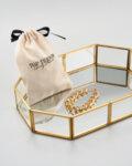 Стъклена кутия за грим, бижута, обеци, пръстени и колиета Glam box-Copy