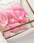 Колие с инициали, букви My Closest Ones с инкрустирани камъни-Copy