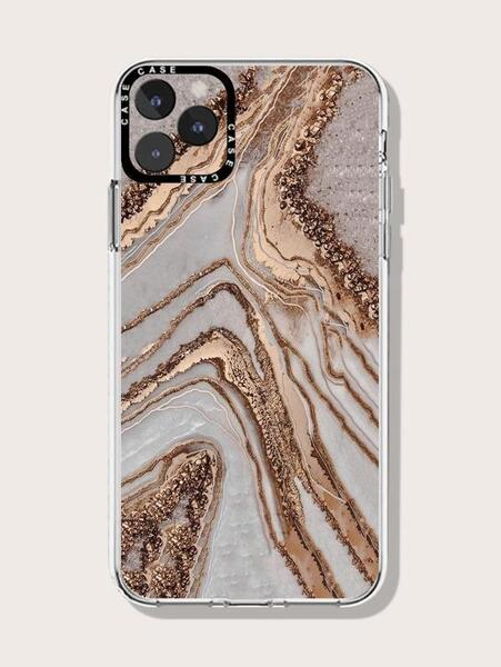 Кейс за iPhone 12/12 pro Golden Marble