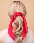 Ластик за коса с шал Curly
