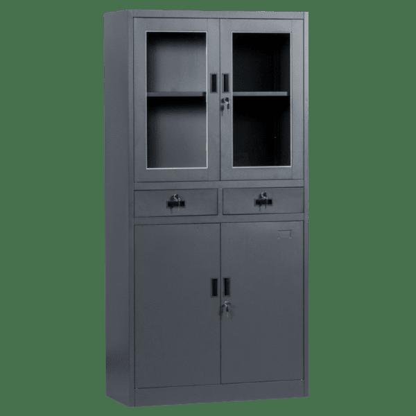 Метален шкаф Carmen CR-1247 L SAND - графит