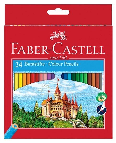 Цветни моливи FABER-CASTELL - 24 цвята