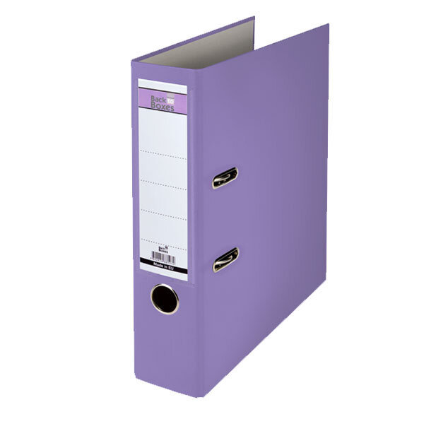 Класьор B2B A4, 7.5 cm Виолетов