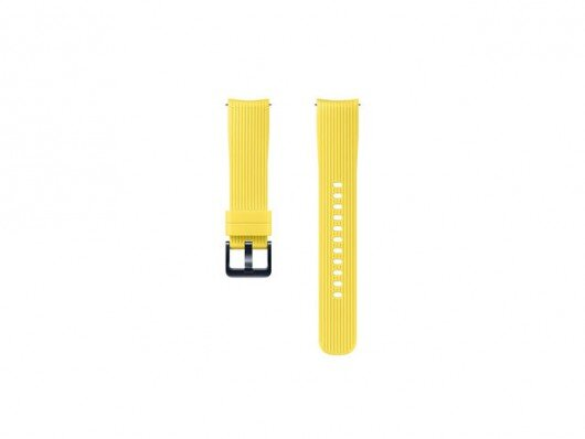 Силиконова каишка за Samsung Galaxy Watch Band BSM-R810/BSM-R815 Yellow