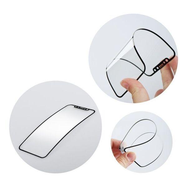 Стъклен протектор Nano 5D Tempered Glass Apple iPhone 12 Mini Black