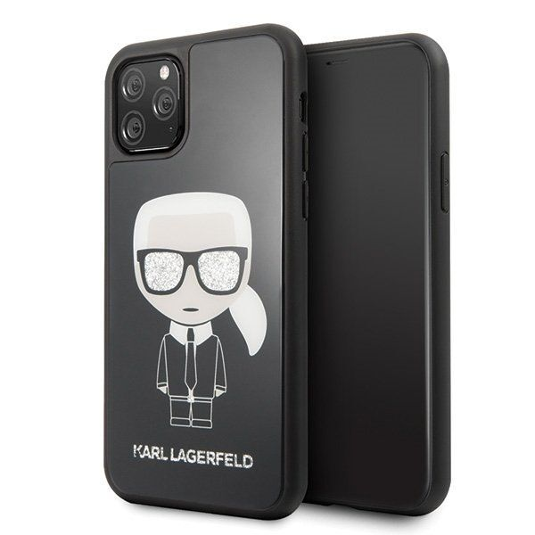 Калъф Original Faceplate Case Karl Lagerfeld KLHCN58DLFKBK iPhone 11 Pro Black