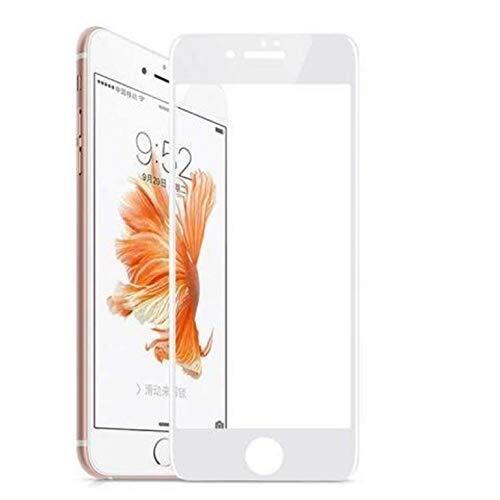 9D Стъклен Протектор Apple iPhone 6/6s Plus Tempered Glass Full Glue White