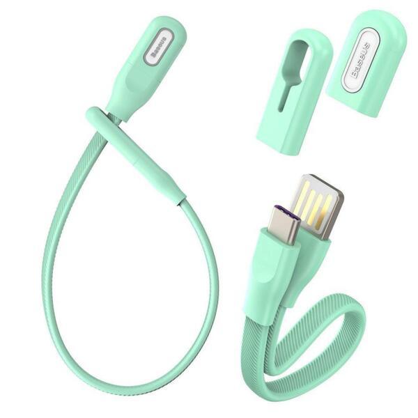 Кабел Baseus Bracelet Style USB Type-C Cable Mint