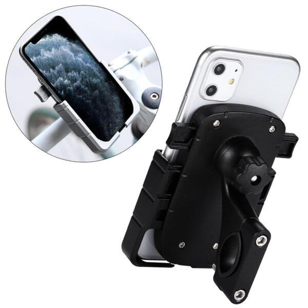 Стойка за велосипед/мотор Adjustable Phone Bike Mount Holder Black