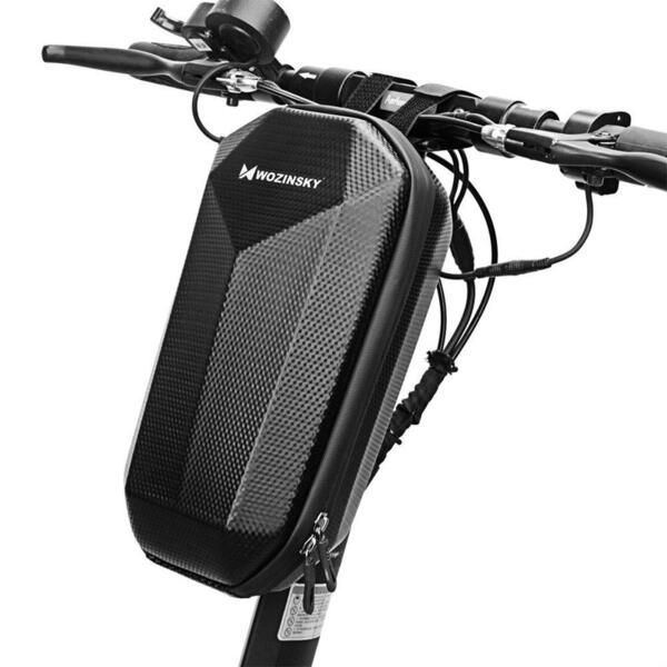 Водоустойчива чанта Wozinsky Waterproof Electric Scooter Handlebar Bag 4L Black