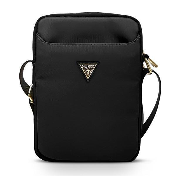 "Чанта за таблет Guess Nylon Triangle Logo GUTB10NTMLBK 10"" Black"