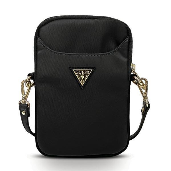 "Чанта за таблет Guess Nylon Triangle Logo GUPBNTMLBK 8"" Black"