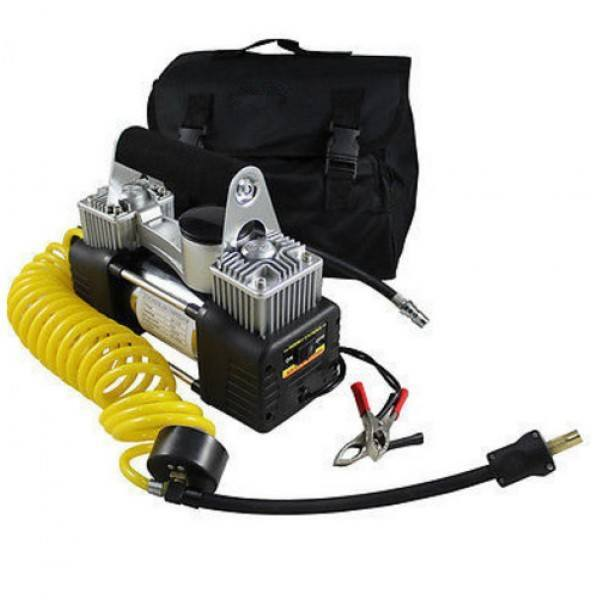 Двубутален компресор за гумпресор за гуми