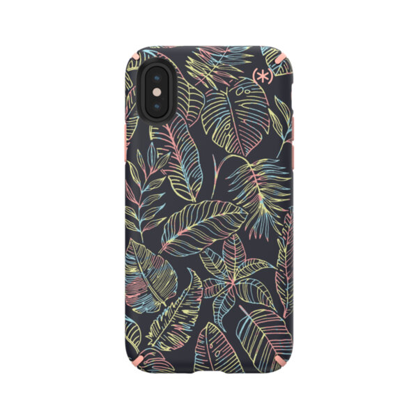 Калъф Speck iPhone XS/X CASE SS19 SUN DYED LEAVES/SUNSET PEACH