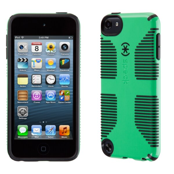 Калъф Speck iPod Touch 5 CandyShell Grip Sour Apple Green/Black EOL