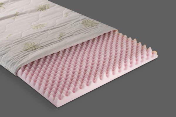 Топ матрак с масажиращ ефект Aloe Vera Ortopedic 7 см, My Sleep